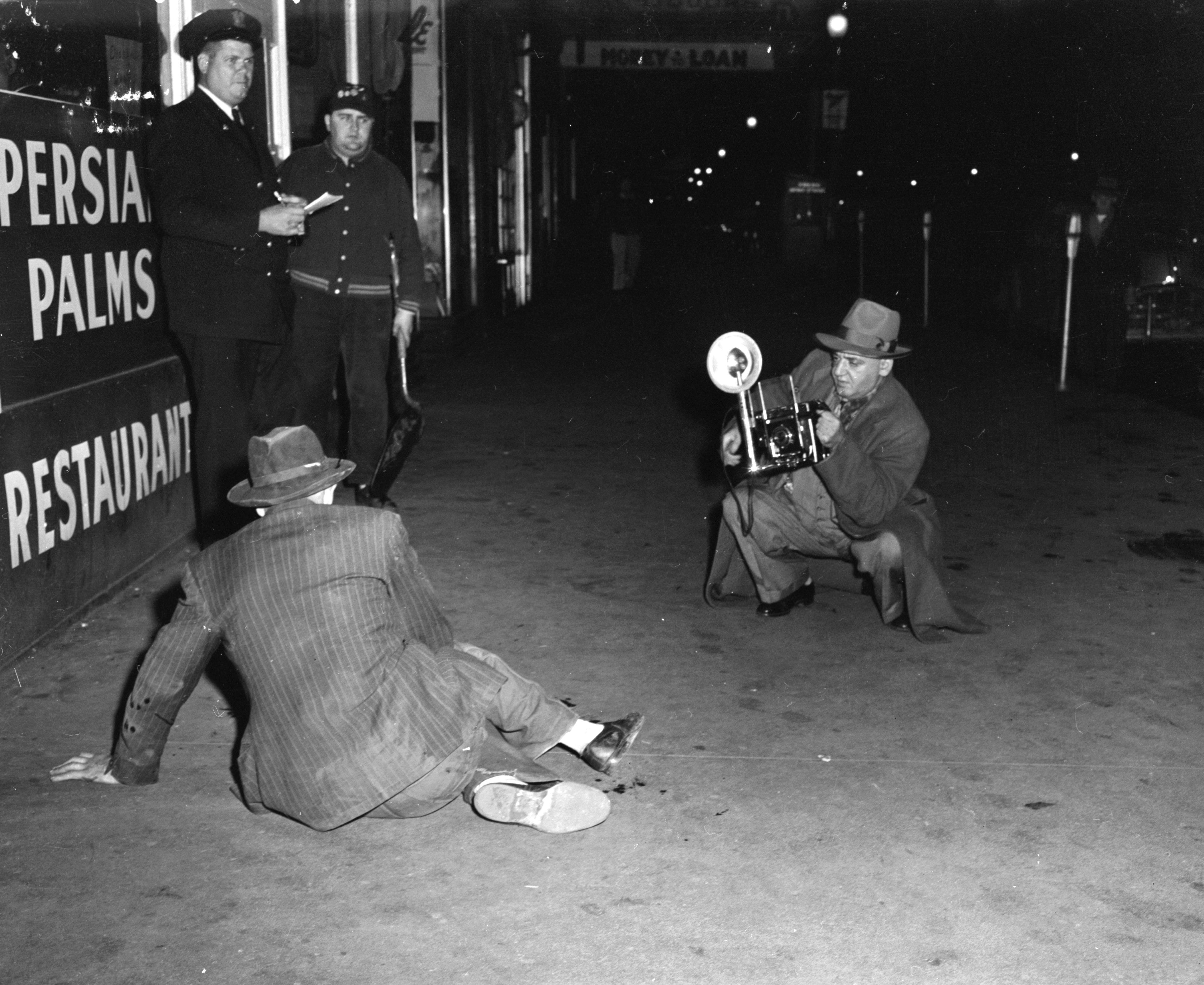 Crime Scene Shutterbugs of the 20th Century