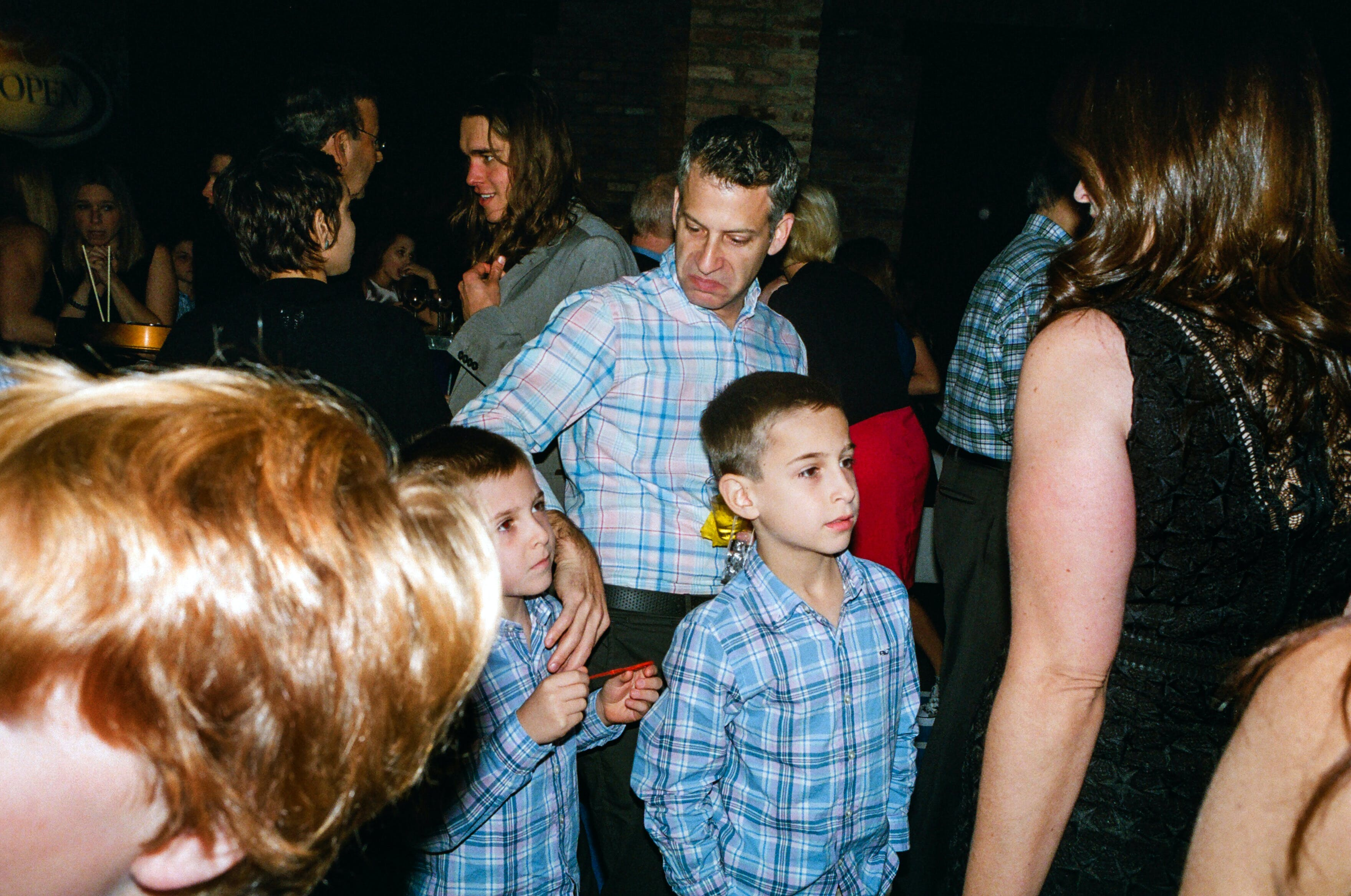 More plaid on the bar mitzvah party circuit.