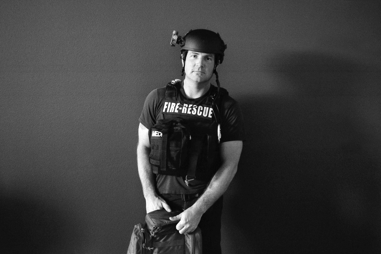 Eric Schultz, 32, Tactical Rescue, San Antonio Fire Department, Station 11.