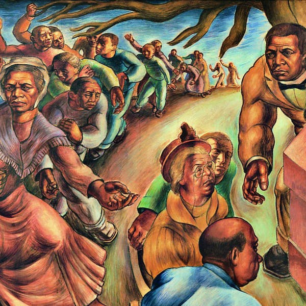 Detail of Five Great American Negroes