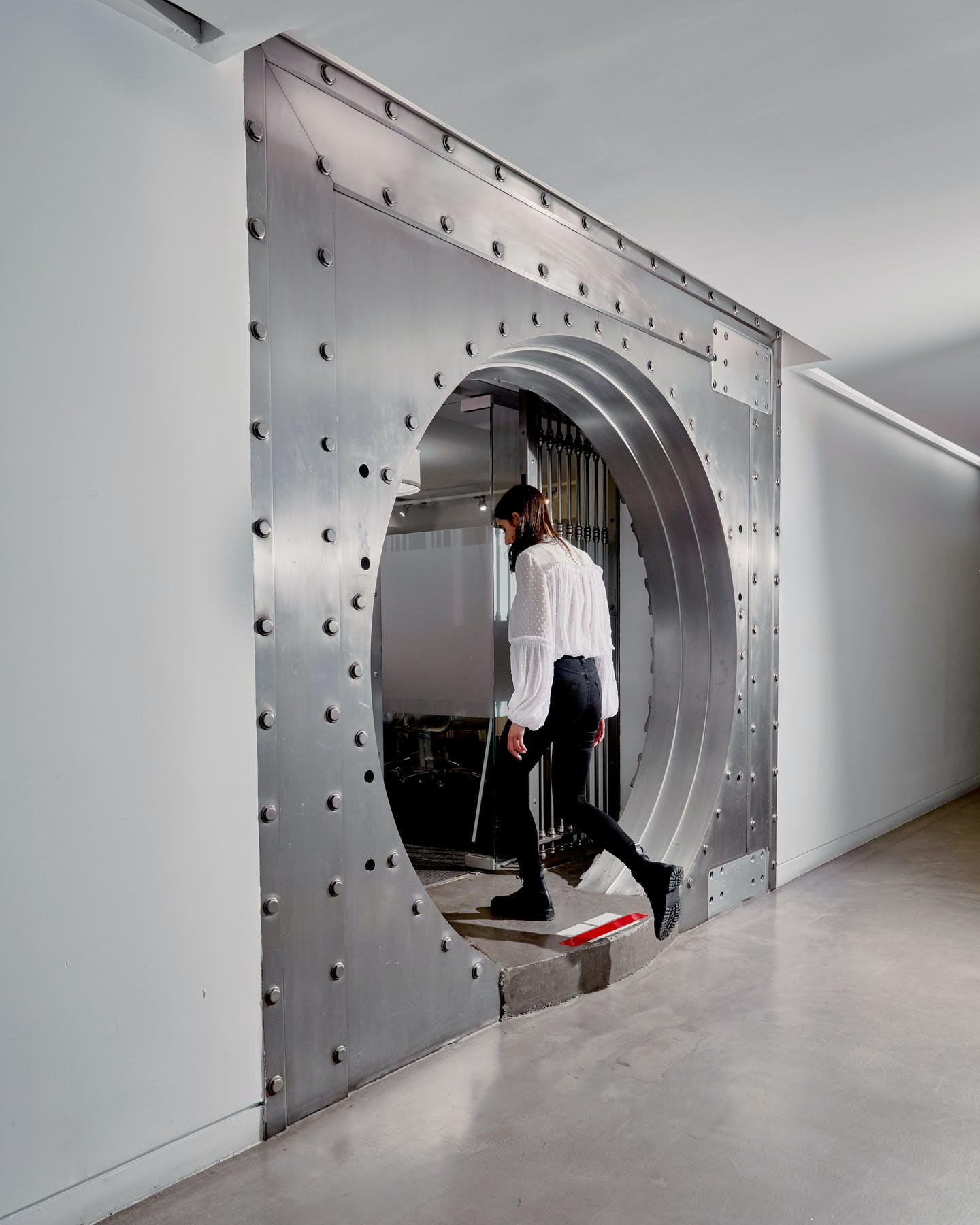 What Do People Do With the Old Bank Vaults When Money Goes