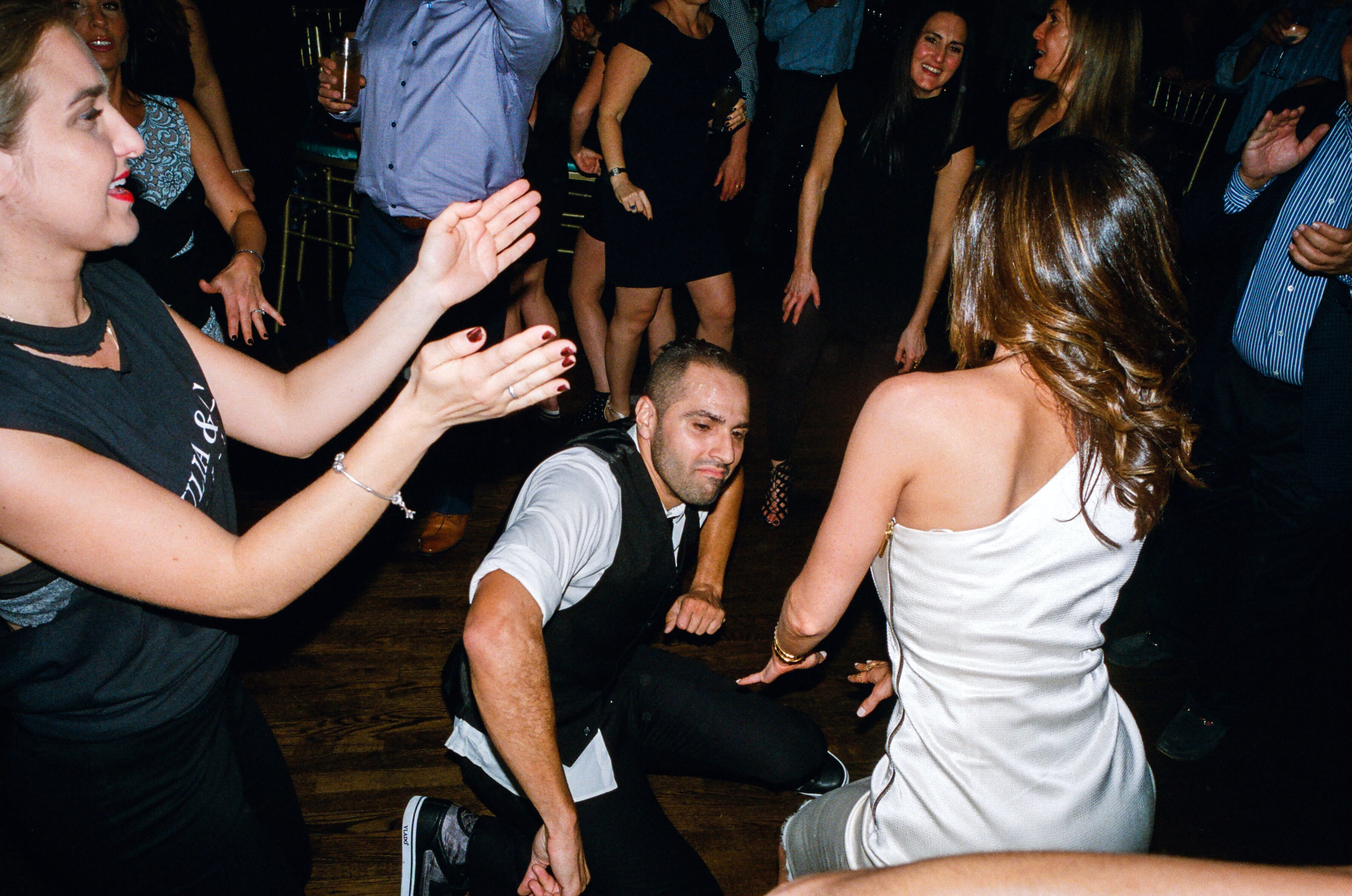 Bar mitzvah party motivators aren't just for kids. According to Ricardo, the best parties end with all ages on the floor.