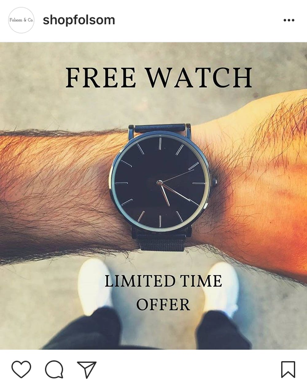 there s no such thing as a free watch
