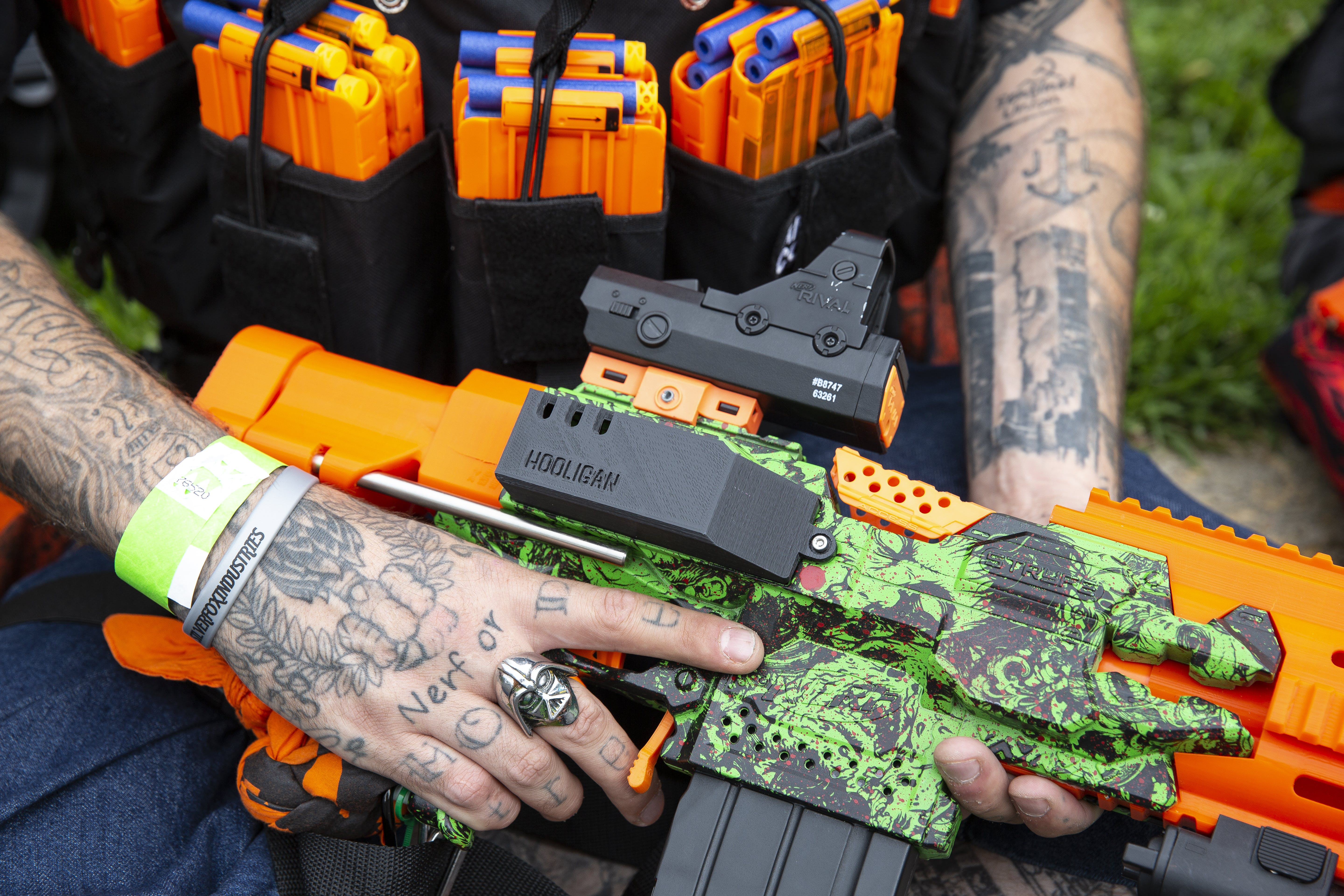 This Is My Nerf Blaster, This Is My Gun