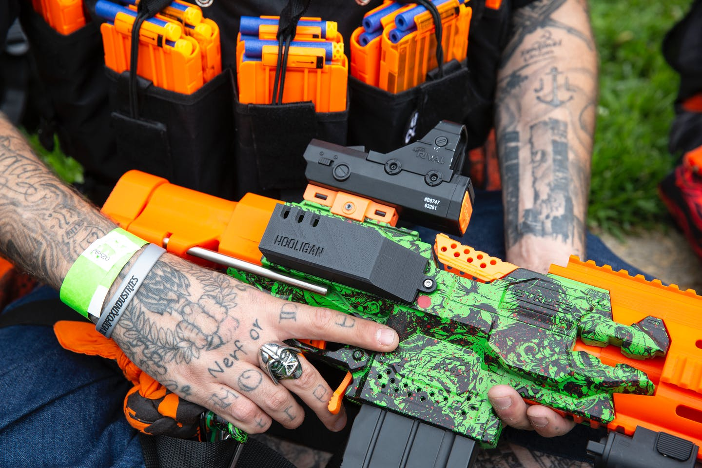 this is my nerf blaster this is my gun topic