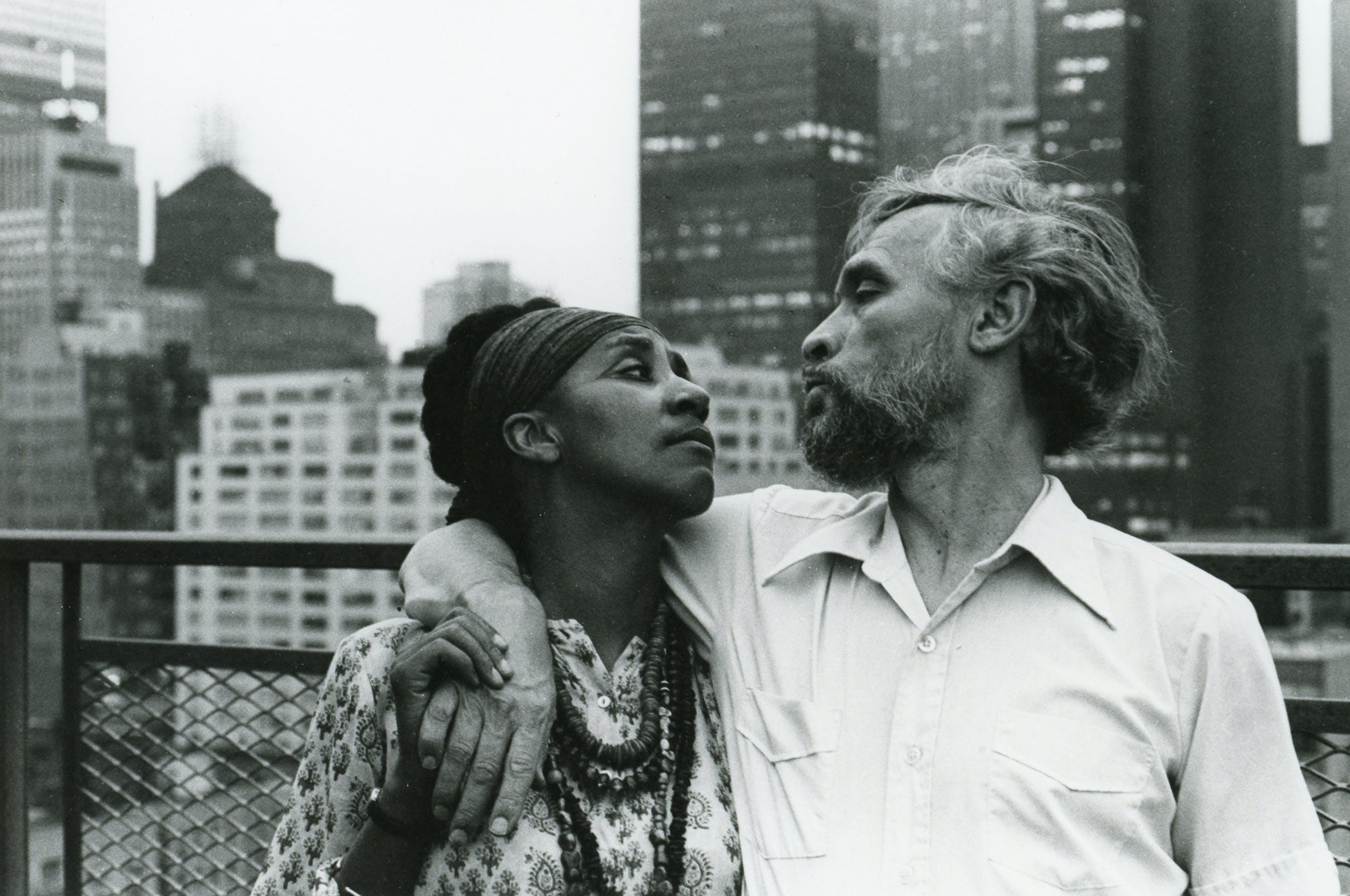 Camille Billops and James Hatch, New York City, circa 1978.
